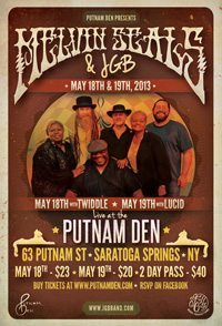 JGB & Melvin Seals at Putnam Den